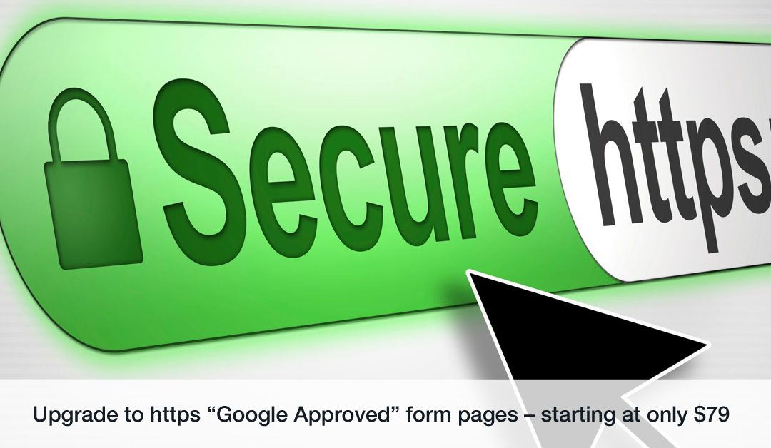 Converting Form Pages To HTTPS – Google Speaks